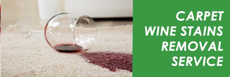 Carpet Wine Stain Removal Service
